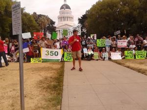 People's climate march sacramento